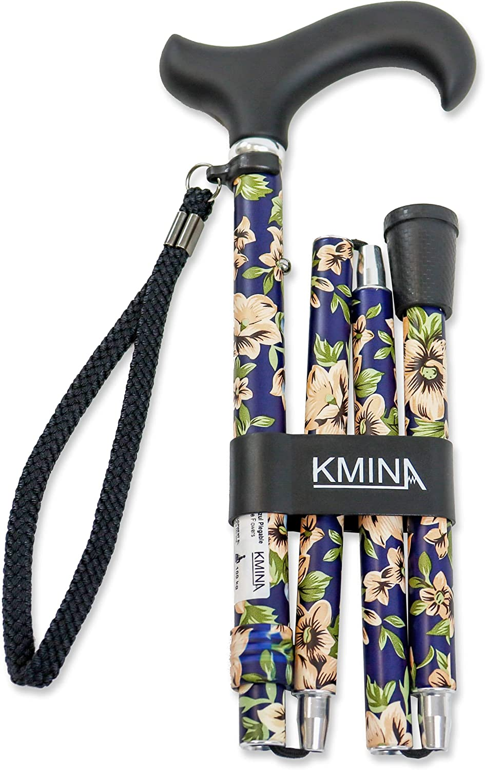 KMINA PRO - Selling and selling Folding Cane for Fashionable Flower Max 66% OFF Can Women