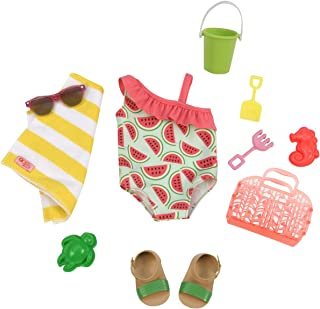 Our Generation Dolls Slice of Fun Watermelon Bathing Suit