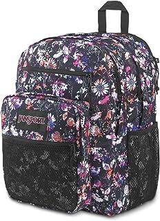 Jansport Big Campus Backpack - Lightweight 15-inch Laptop Bag, Chroma Floral