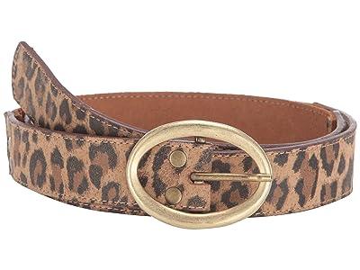 Leatherock Aubrey Belt (Leopard/Tobacco) Women