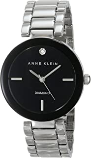 Anne Klein Womens Quartz Watch, Analog Display and Ceramic Strap