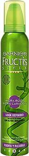 Garnier Fructis Style - Espuma Hidra-Rizos 5 Acciones Fructis Style 200ml - [paquete de 3]