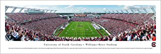 South Carolina Football End Zone - College Posters, Framed Pictures and Wall Decor by Blakeway Panoramas
