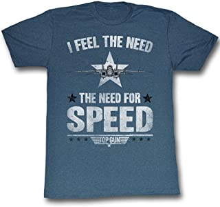 Top Gun 1980's Military Action Movie Tomcat Need for Speed Adult T-Shirt