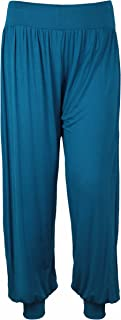 Courte sarouel taille 44 46 48 50 52 grande taille pantalon bouffant sommerhose Uni 119