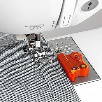 sewing machine seam guide CL7708 CLOVER 6-IN-1 STICK /& STITCH SEAM GUIDE