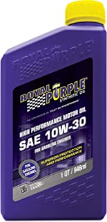 Royal Purple 06130-6PK API-Licensed SAE 10W-30 High Performance Synthetic Motor