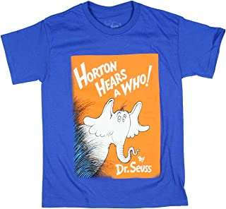 Seven Times Six Dr. Seuss Boy's Horton Hears A Who Lovable Elephant Royal Blue T-Shirt
