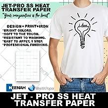 Jetpro Soft Stretch Inkjet Transfer Paper Lights 8.5