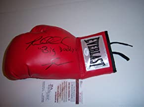 Riddick Bowe Big Daddy JSA Autographed Signed Boxing Glove - Certificate Included