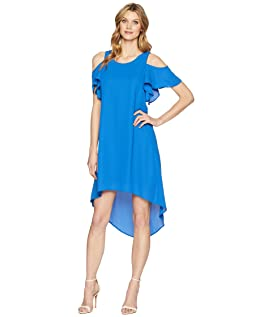 Cold Shoulder High-Low Dress