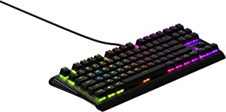 SteelSeries Apex M750 TKL RGB Tenkeyless Mechanical Gaming Keyboard - Aluminum Frame - RGB LED Backlit - Linear & Quiet Switch - Discord Notifications