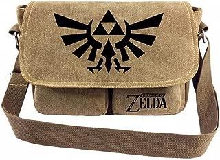 The Legend of Zelda Cosplay Canvas Shoulder Bag Crossbody Sling Bag Satchel for Boys and Girls 1