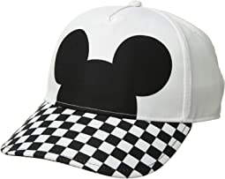 Mickey's 90th Checkerboard Mickey Court Side Hat