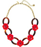 Kate Spade New York - Rosy Posies Link Necklace