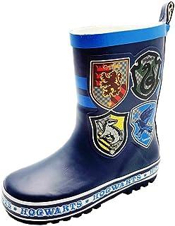 Harry Potter Boys Clark Slip On Wellington Boots UK Sizes Child 8-3