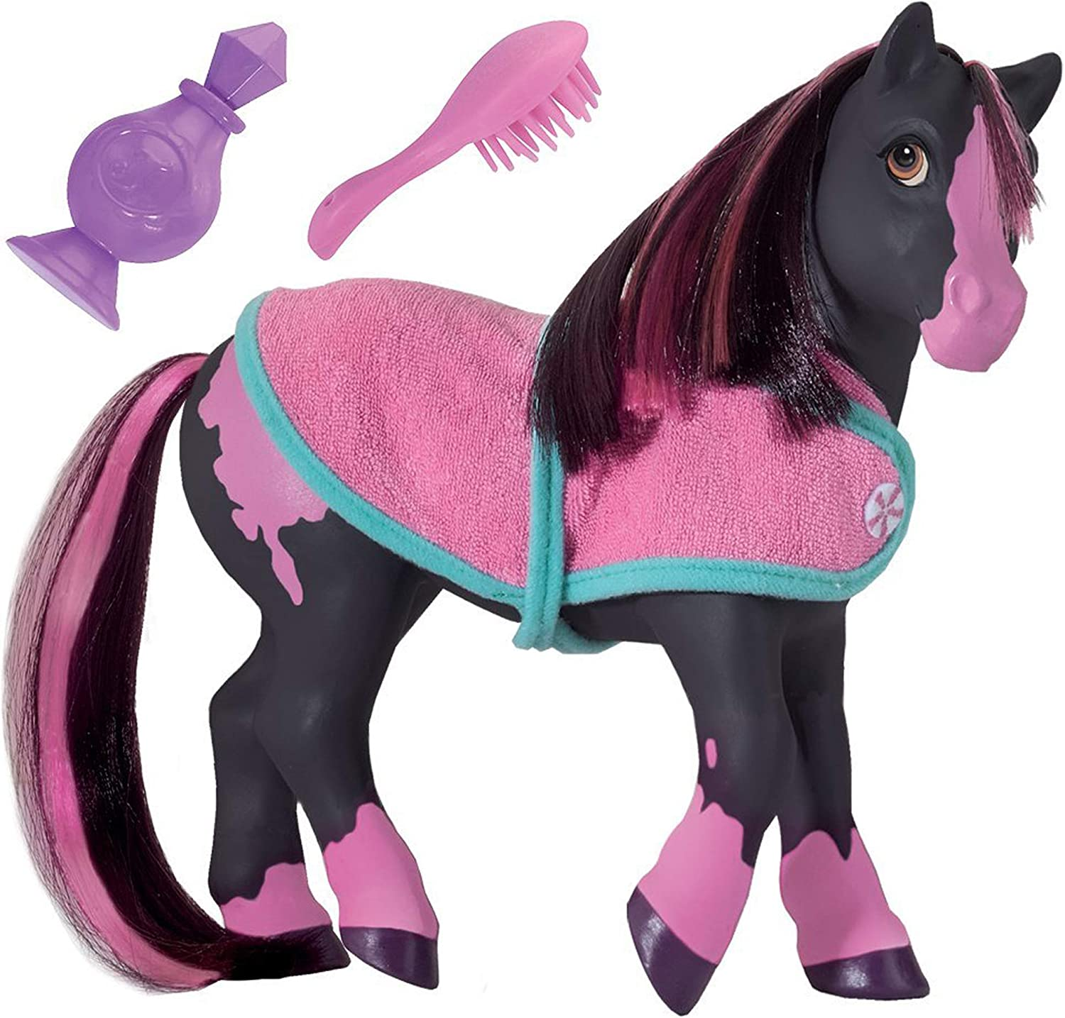 Breyer Horses Color Changing Bath Toy | Jasmine the Horse | Blac
