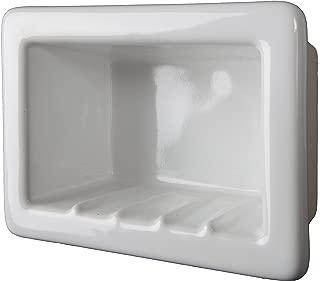 Ceramic Recessed Soap or Foot Rest Tile Shower