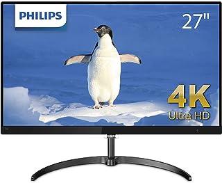PHILIPS モニターディスプレイ 276E8VJSB/11 (27インチ/4K/5年保証/HDMI/Display Port/フレームレス/PIP/PBP)
