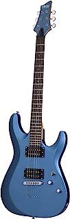 Best Schecter 431 C-6 Deluxe Solid-Body Electric Guitar, Satin Metallic Light Blue Reviews