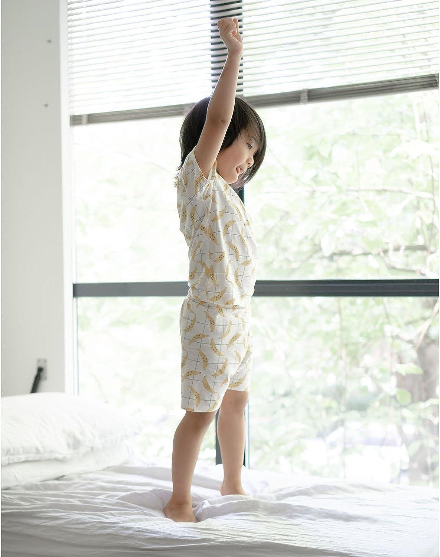 Babysoy Short Sleeve Soy Lounge PJ Playwear Set with Shorts