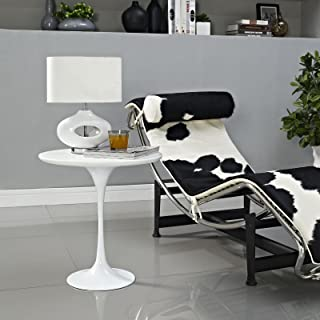 tulip side table white