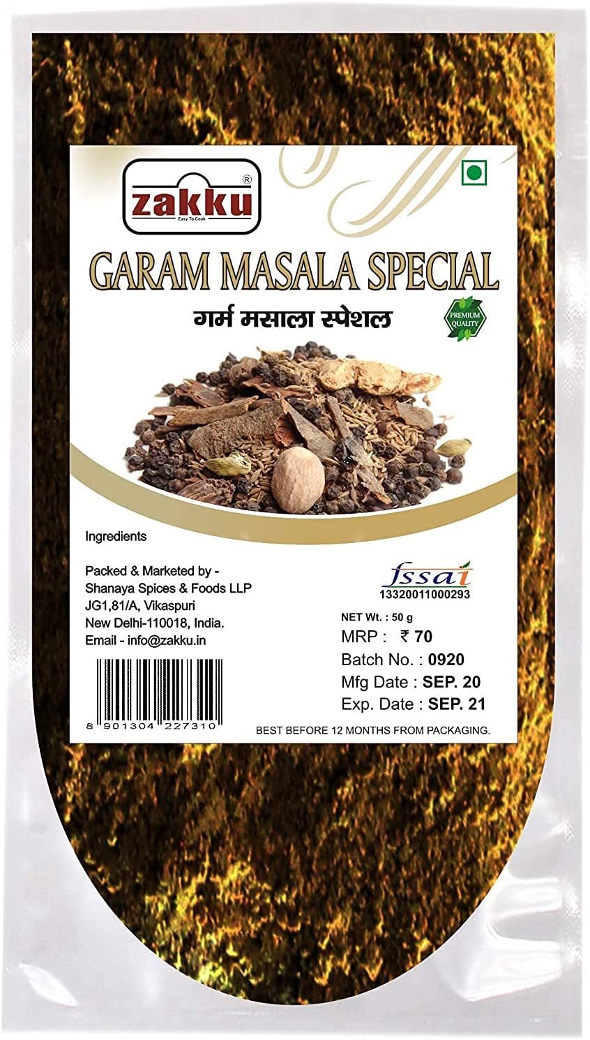 Jexmon ZAKKU Garam Masala Quantity limited Blended Spices Special 2021 new