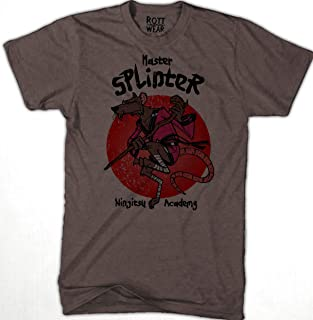 Maestro Splinter Tortugas Ninja Academy Playera Rott Wear