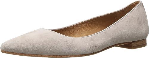 FRYE damen& 039;s Sienna Ballet Flat, Cement, 10 M US