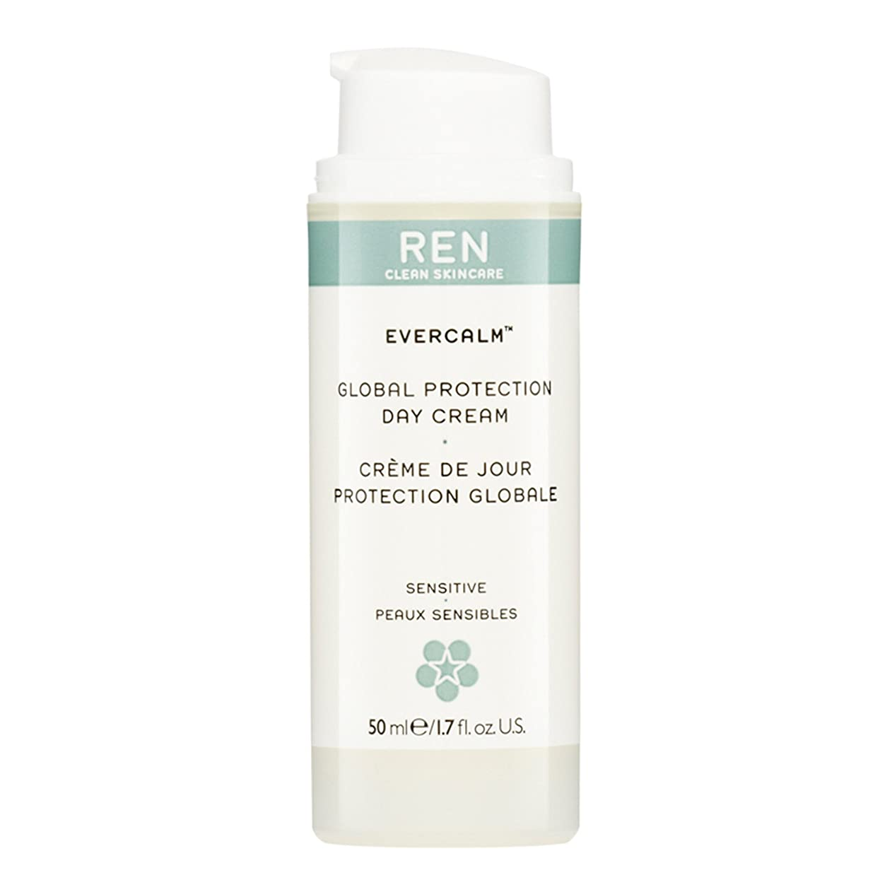 ウェイトレス悲惨な中央レン Evercalm Global Protection Day Cream (For Sensitive/ Delicate Skin) 50ml [海外直送品]