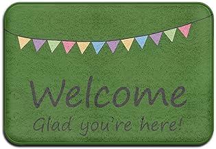 Welcome Glad You Are Here Funny Door Mat Doormat Indoor Washable Funny Doormats