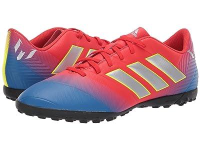 adidas Nemeziz Messi 18.4 TF (Active Red/Silver Metallic/Football Blue) Men