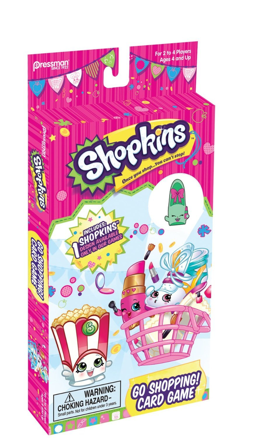 Shopkins Go Shopping Card Game With Coll Buy Online In Israel At Desertcart