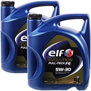 aceite motor ELF EVOLUTION Full-Tech FE 5W-30 5 litros (10 ltrs = 2 x 5 L)