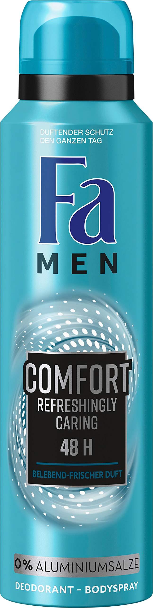 Fa Comfort Deodorant Spray Aluminium