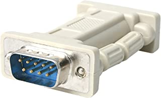StarTech.com DB9 RS232 محول مودم Null - محول مودم Null - DB-9 (M) إلى DB-9 (F) - NM9MF