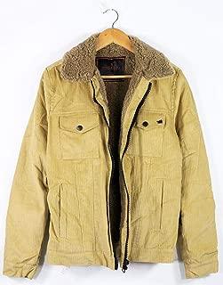 Catch Full Kürklü Kadife Kumaş Kışlık Mont Ceket