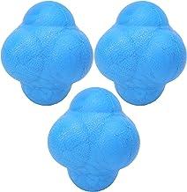 Training Oefenbal Klein Formaat Reactiebal Duurzaam Lichtgewicht, voor boksen, volleybal, softbal(blue)