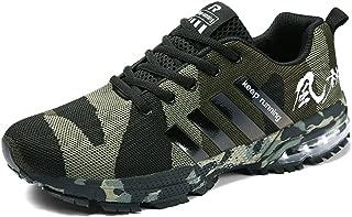 Air Cushion Running Shoes Men Womens Lightweight Sports Sneakers Athletic Walking Tennis