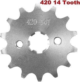 Pi/ñ/ón de acero compatible con Derbi 125 Cross City 07-08 15 dientes