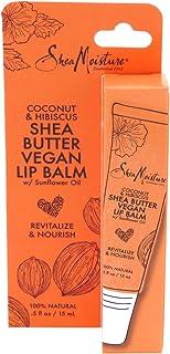Shea Moisture Lip Balm Coconut & Hibiscus 0.5 Ounce (15ml) (2 Pack)