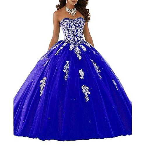 Royal Blue Quinceanera Dresses Amazon.com