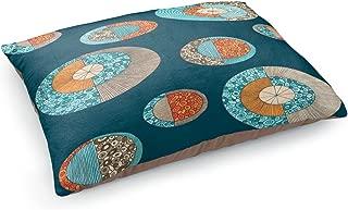 Dia Noche Dog Pet Beds by Valerie Lorimer Circles MCM 2