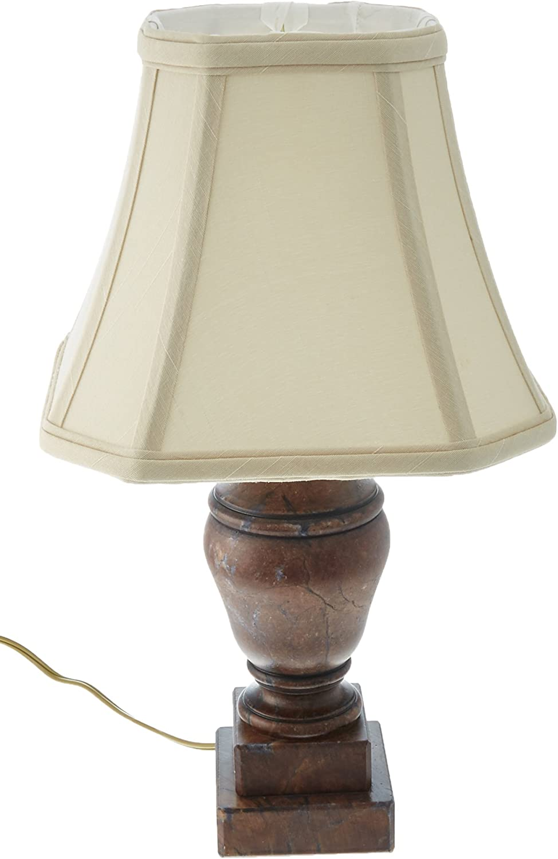 Royal Designs Crackle 高額売筋 Alabaster Mini Cut La Lamp Square Corner 毎日がバーゲンセール
