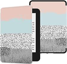 HUASIRU Pintura Caso Funda para Kindle Paperwhite (10.ª generación - Modelo de 2018) [Nunca agrietarse], Colores