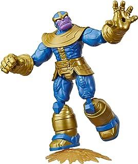 Marvel Avengers Bend and Flex-actiefiguur, flexibele Thanos-figuur van 15 cm, met blastaccessoire, voor kinderen vanaf 6 jaar
