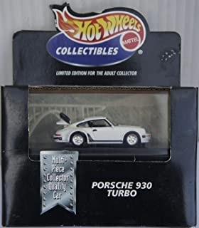 Hot Wheels Collectibles Porsche 930 Turbo Limited Edition for the Adult Collector 1:64 Scale Die-cast Car