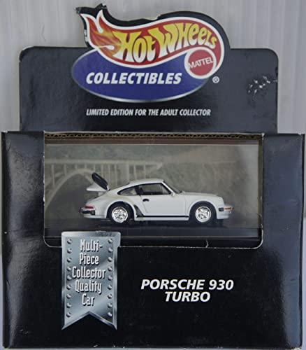 Hot Wheels Collectibles Porsche 930 Turbo Limited Edition for the Adult Collector 1 64 Scale Die-cast Car