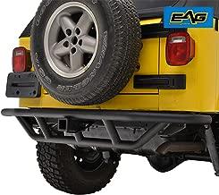 E-Autogrilles 51-0003 EAG Black Rear Bumper Tubular Off Road with 2