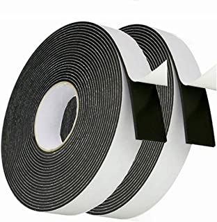 High Density Foam Tape Weather Stripping Insulation Soundproofing Closed Cell Foam Single Side Adhesive Tape (1/8